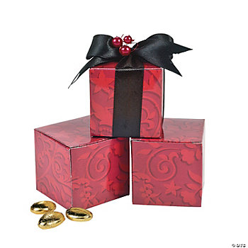 Red On Red Wedding Gift Boxes