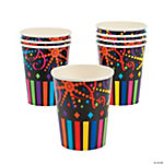 Bright New Years Cups