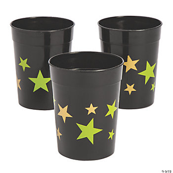 Gold Star Tumbler Glasses