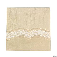 Rustic Western Wedding Luncheon Napkins