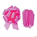 Hot Pink Wedding Pull Bows