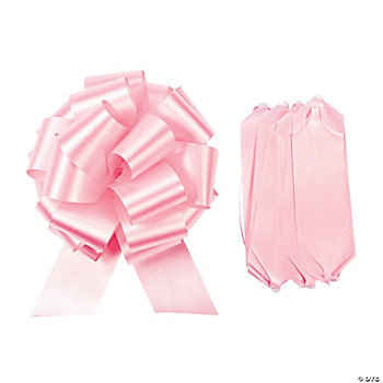 Pink Wedding Pull Bows