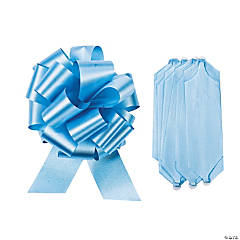 Light Blue Wedding Pull Bows