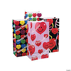 Smile Face Heart Gift Bags