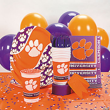 NCAA™ Clemson Basic Party Pack