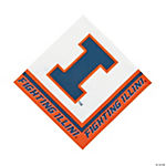 NCAA™ Illinois Luncheon Napkins