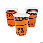 Spalding® Basketball Cups
