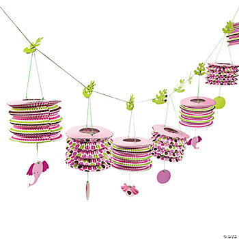 Safari Girl Lantern Garland