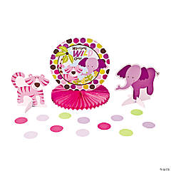Safari Girl Tabletop Decorating Kit