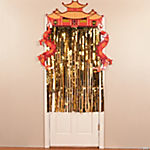 Dragon Door Curtain