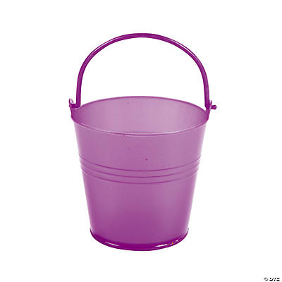 Bright Purple Pails