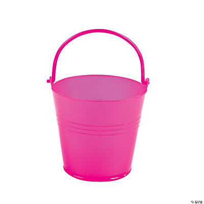 Bright Pink Pails