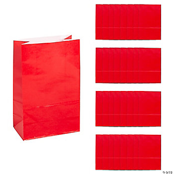 Mini Treat Bags - Red
