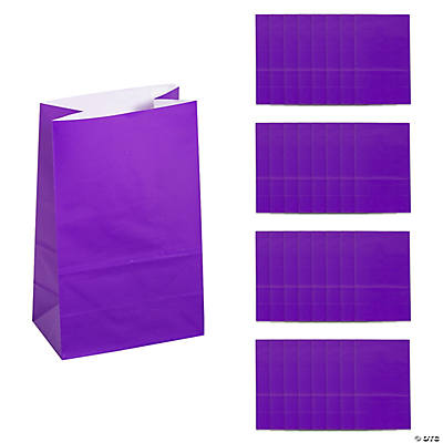 Mini Treat Bags - Purple