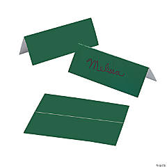 Green Place Cards