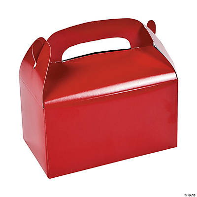 Treat Boxes - Red