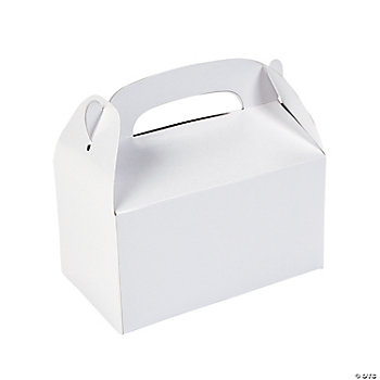 Treat Boxes - White