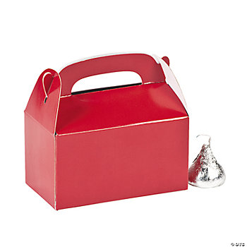 Mini Red Treat Boxes