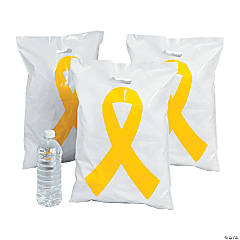 Yellow Ribbon Treat Bags