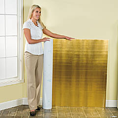 Metallic Gold Corrugated Paper Roll
