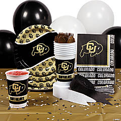 NCAA™ University of Colorado Basic Party Pack