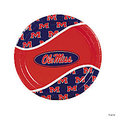 NCAA™ University of Mississippi Dinner Plates