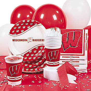 NCAA™ Wisconsin Basic Party Pack