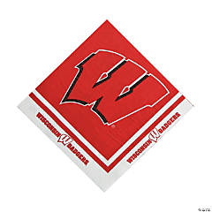 NCAA™ Wisconsin Luncheon Napkins