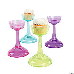 Colored Cupcake Pedestals