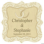 Personalized Rustic Western Wedding Wall Cling