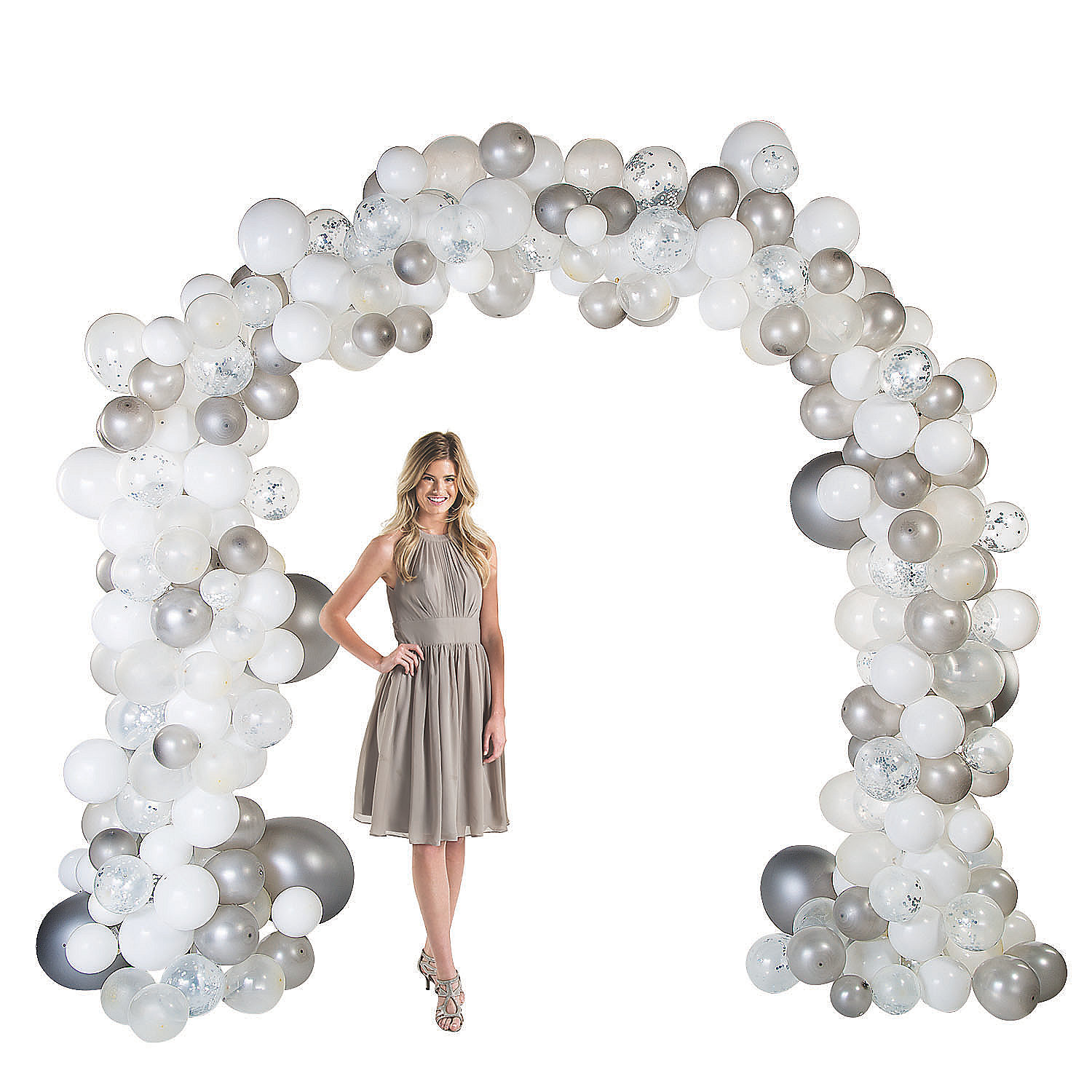 Balloon arch frame party favors ideas