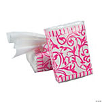 Hot Pink Wedding Facial Tissue Packs