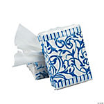 Blue Wedding Facial Tissue Packs