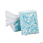 Light Blue Wedding Facial Tissue Packs