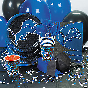 NFL® Detroit Lions™ Basic Party Pack