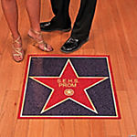 Personalized Movie Night Floor Cling