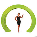 Lime Green Circle Arch Slip