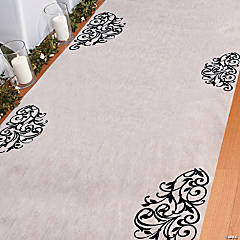 Black & White Aisle Runner