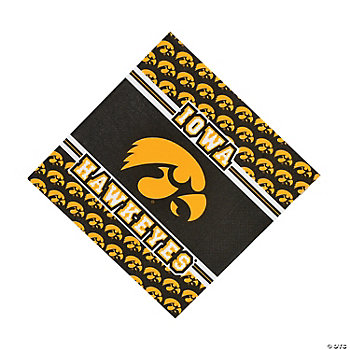 NCAA™ Iowa Hawkeyes Luncheon Napkins