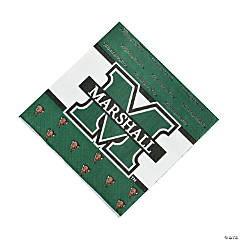 NCAA™ Marshall Thundering Herd Luncheon Napkins