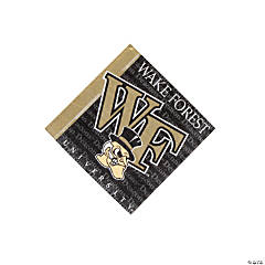 NCAA™ Wake Forest Demon Deacons Beverage Napkins