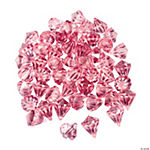 Diamond-Shaped Pink Gems