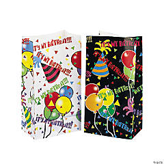 """Happy Birthday"" Gift Bags"