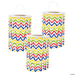 Chevron Pattern Bright Lanterns