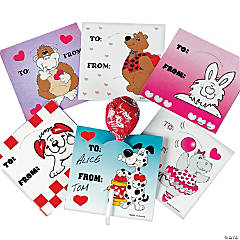 Valentine Sucker Cards