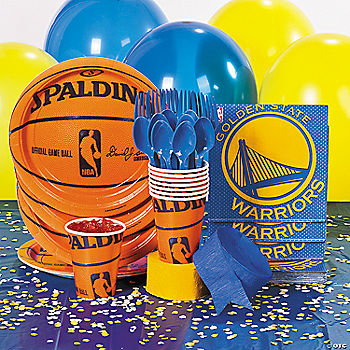 NBA® Golden State Warriors™ Basic Party Pack