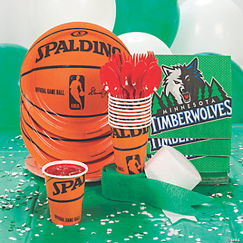NBA® Minnesota Timberwolves™ Basic Party Pack