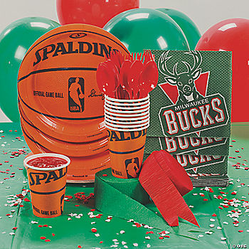 NBA® Milwaukee Bucks™ Basic Party Pack