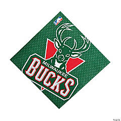 NBA® Milwaukee Bucks™ Luncheon Napkins