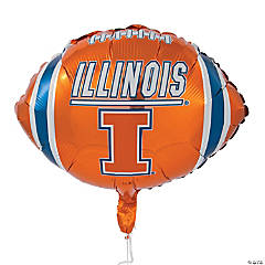 NCAA™ Illinois Mylar Balloon